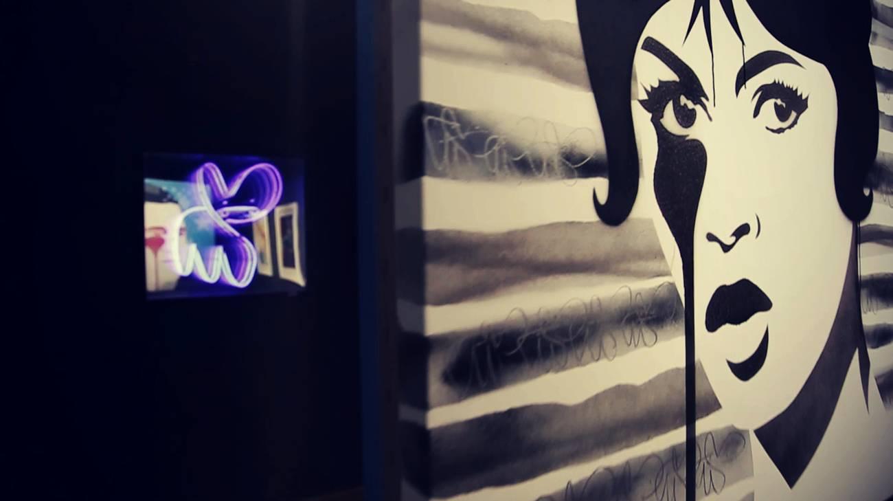 Graffiti in galleria (l)
