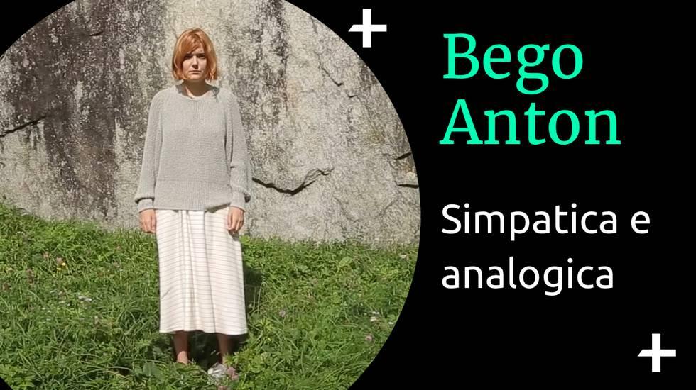 Cult+ Bego Anton - Simpatica e analogica (m)