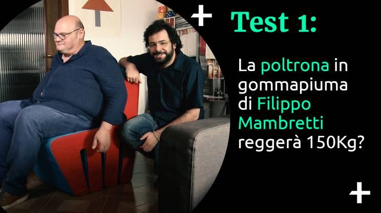 Cult+ Filippo Mambretti - La poltrona (s)