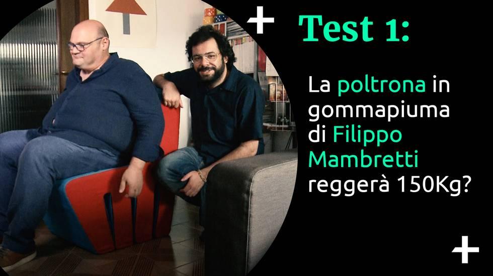 Cult+ Filippo Mambretti - La poltrona (m)