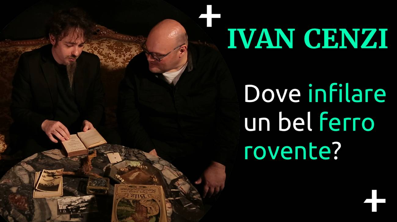 Cult+ Ivan Cenzi - Ferro rovente (l)