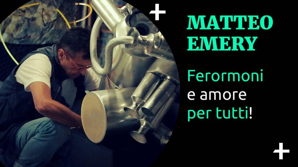Cult+ Matteo Emery - Ferormoni e amore per tutti (m)