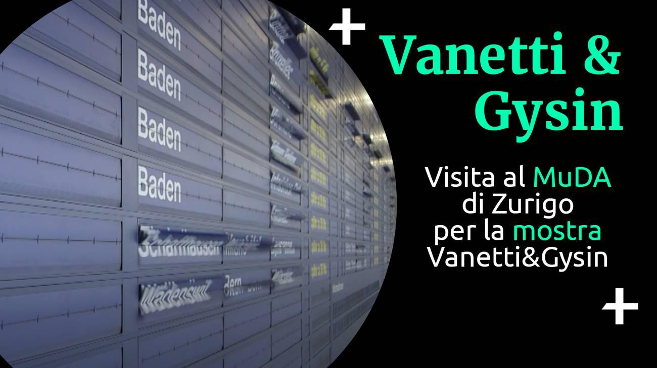 Cult+ Vanetti&Gysin al MuDA (l)