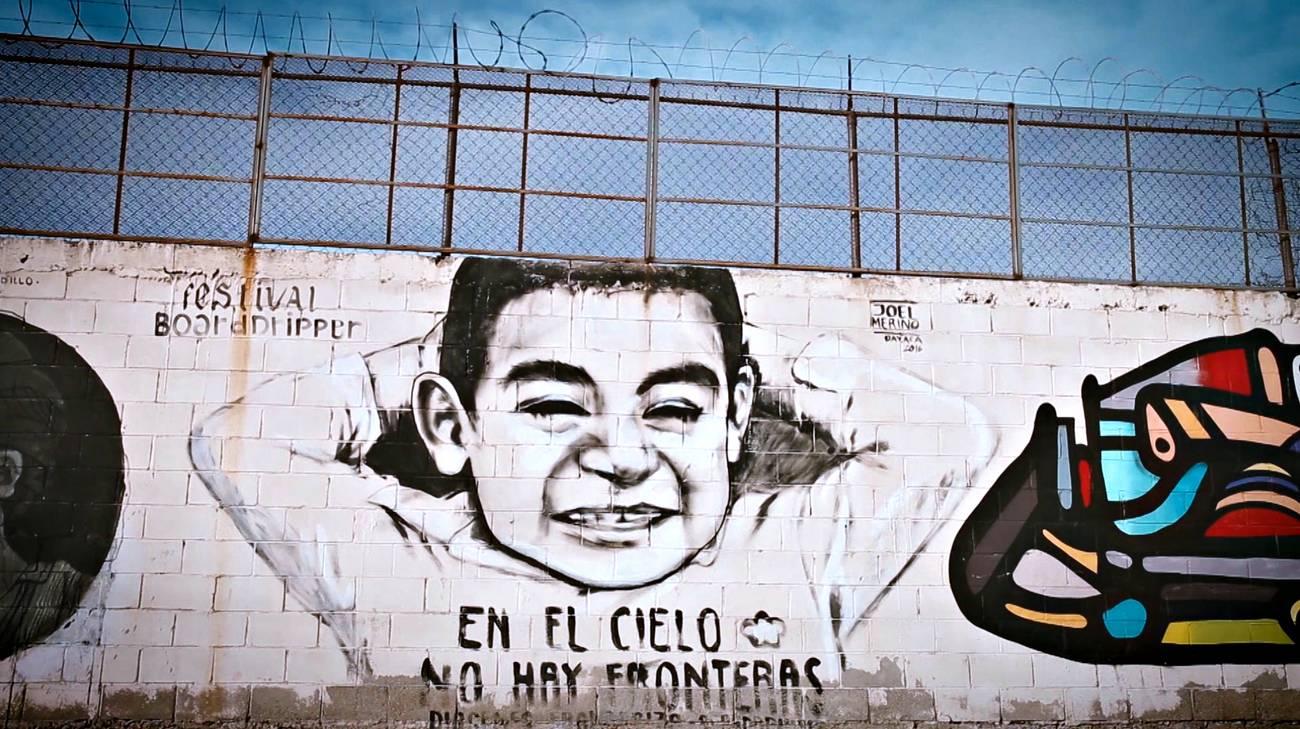L'artista del muro (l)