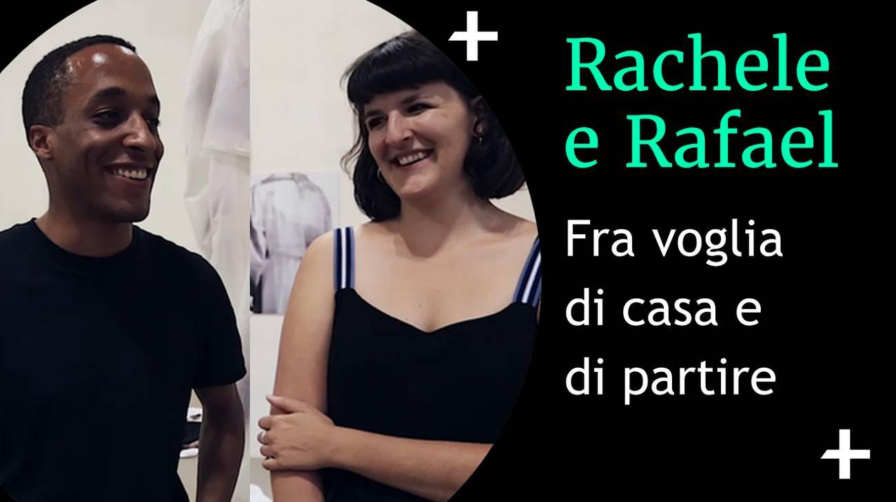 Rachele Monti e Rafael Kouto (l)