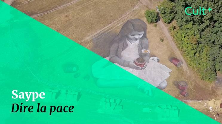 Saype: dire la pace (s)