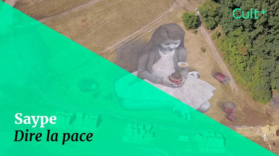 Saype: dire la pace (m)