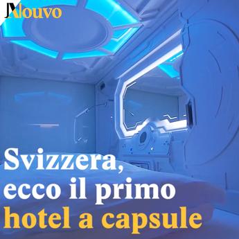 Svizzera, ecco il primo hotel a capsule