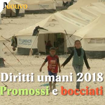 Diritti umani 2018, promossi e bocciati