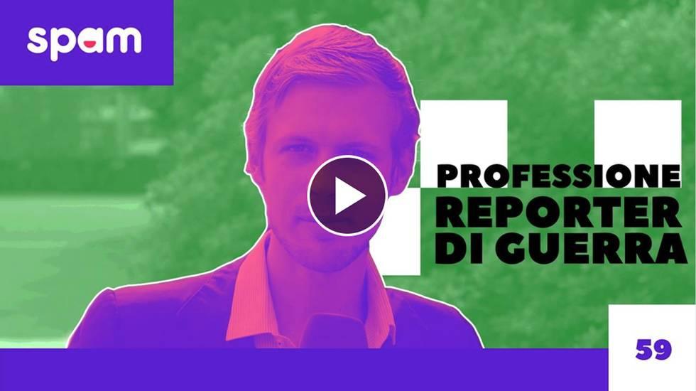 PROFESSIONE REPORTER DI GUERRA (m)
