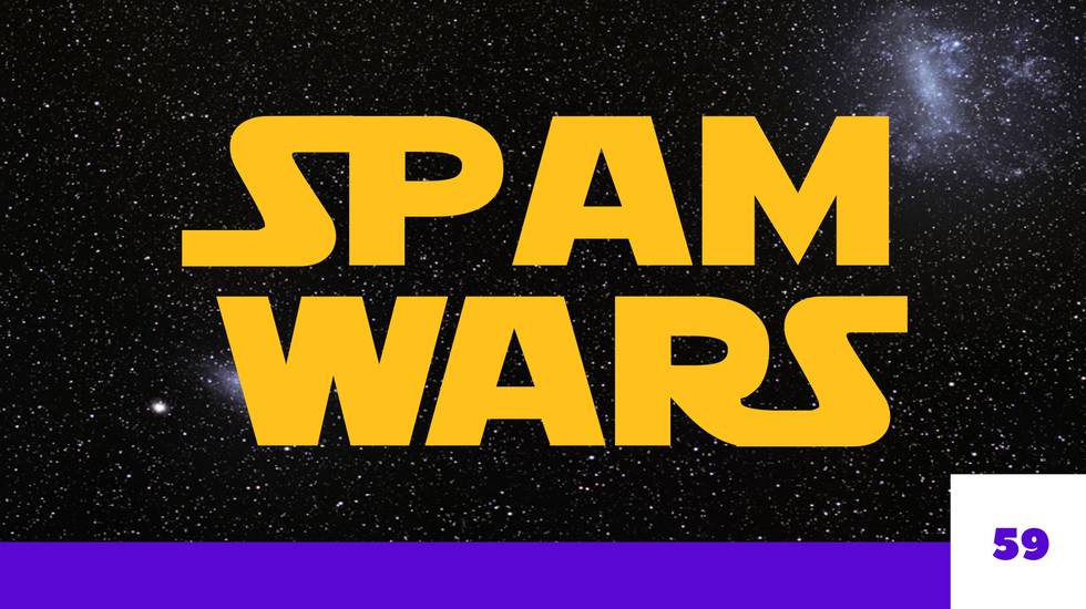 #MOVIEOFMYLIFE SPAM WARS (m)