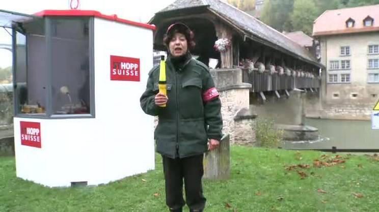 7: Fribourg/Freiburg, dogana Svizzera romanda